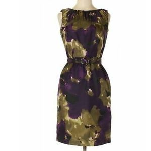 Ellen tracy garden party shift dress